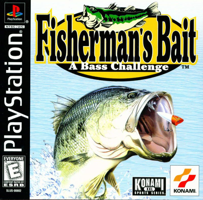 Fishermans Bait A Bass Challenge - PlayStation 1
