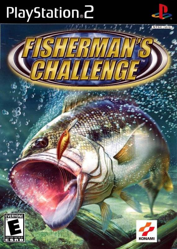 Fishermans Challenge - PlayStation 2