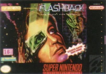 Flashback The Quest for Identity - Super Nintendo Entertainment System