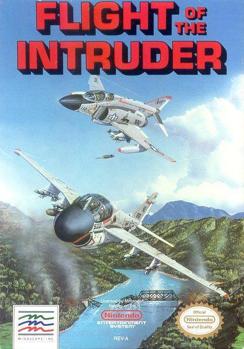 Flight of the Intruder - Nintendo Entertainment System