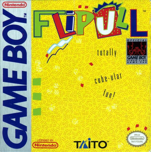 Flipull An Exciting Cube Game - Game Boy