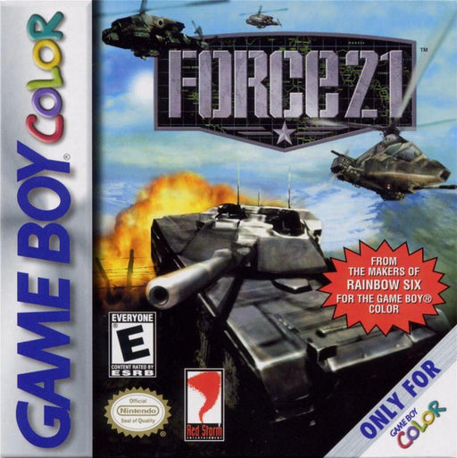 Force 21 - Game Boy Color