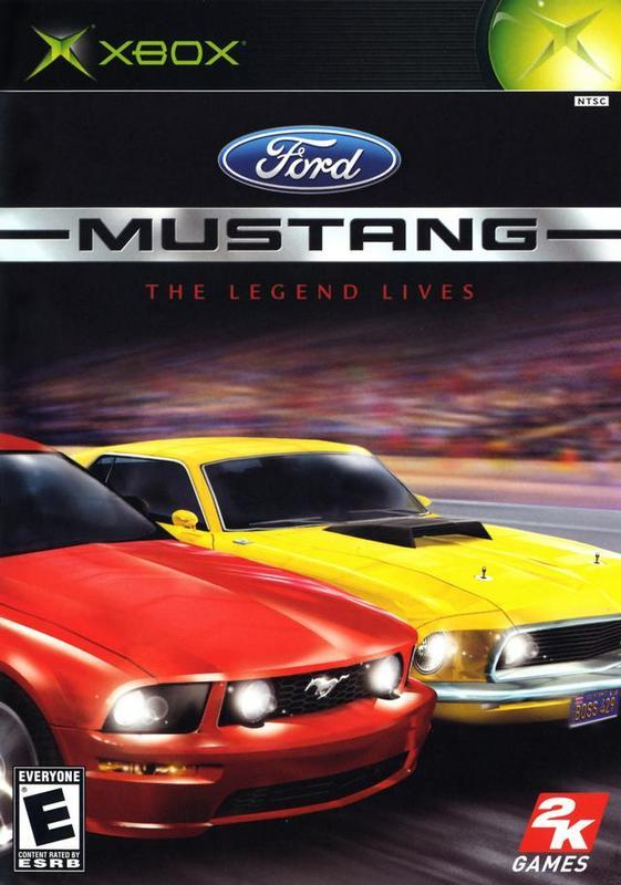 Ford Mustang The Legend Lives - Xbox