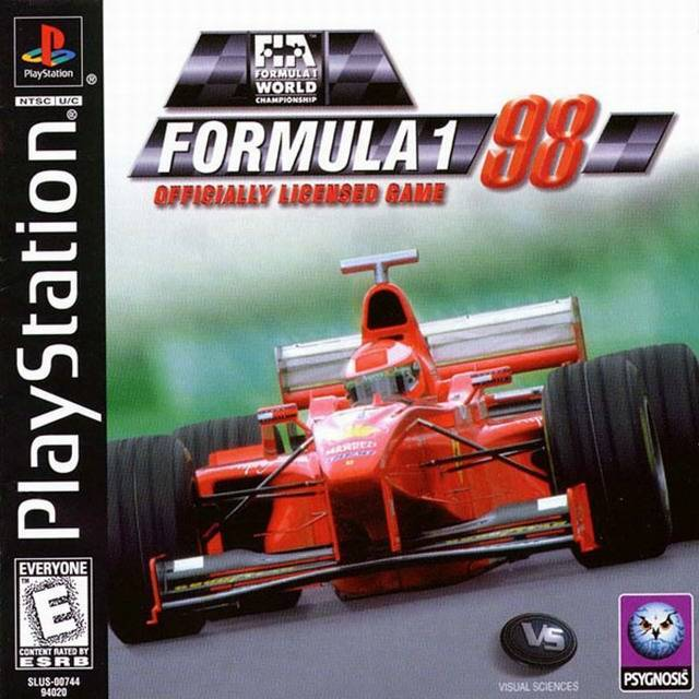 Formula 1 98 - PlayStation 1