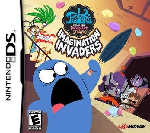 Fosters Home for Imaginary Friends Imagination Invaders - Nintendo DS