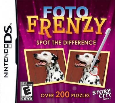 Foto Frenzy Spot the Difference - Nintendo DS