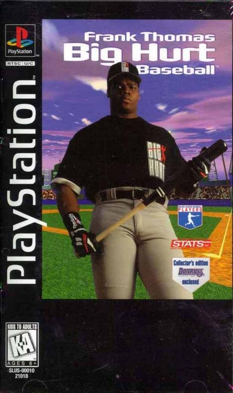 Frank Thomas Big Hurt Baseball - PlayStation 1