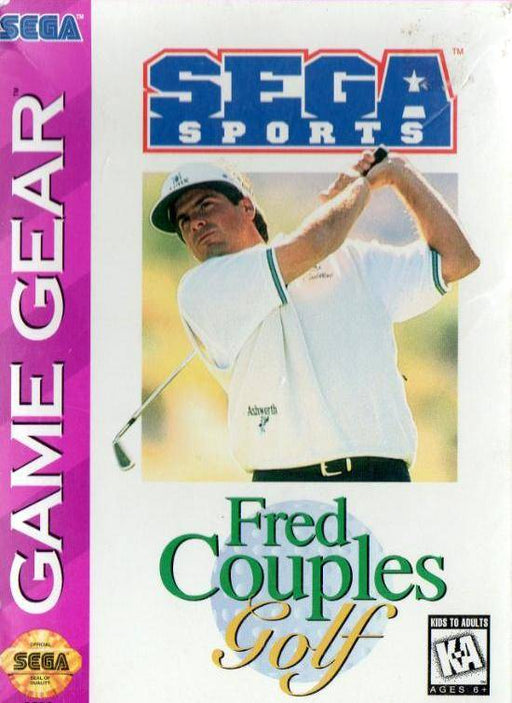 Fred Couples Golf - Sega Game Gear