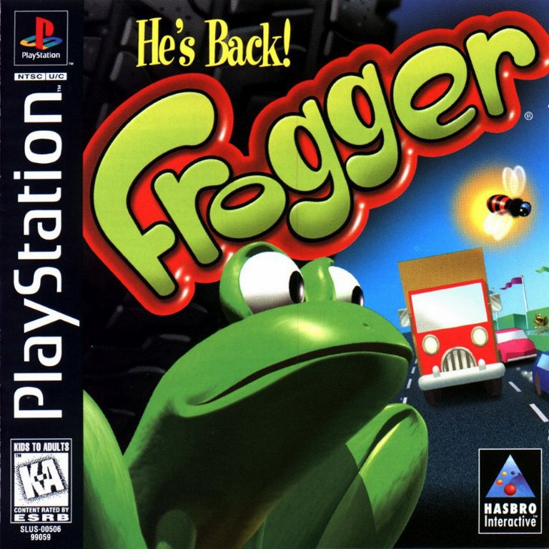 Frogger - PlayStation 1