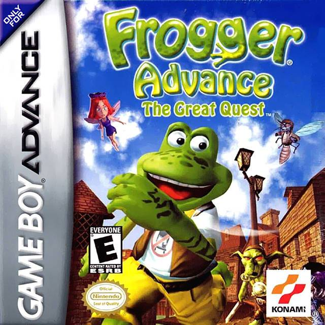 Frogger Advance The Great Quest - Game Boy Advance