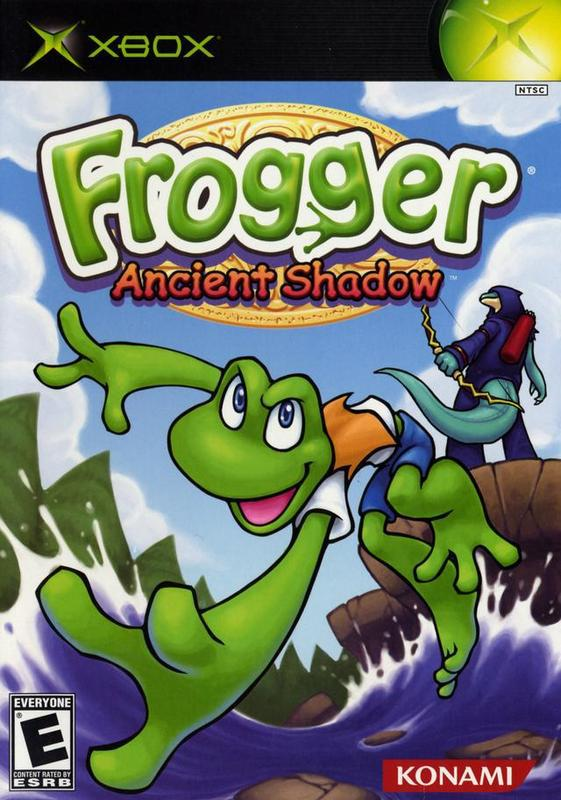 Frogger Ancient Shadow - Xbox