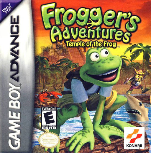 Froggers Adventures Temple of the Frog - Game Boy Advance