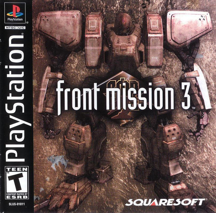 Front Mission 3 - PlayStation 1