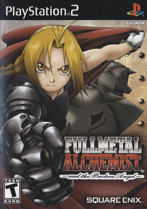Fullmetal Alchemist and the Broken Angel - PlayStation 2