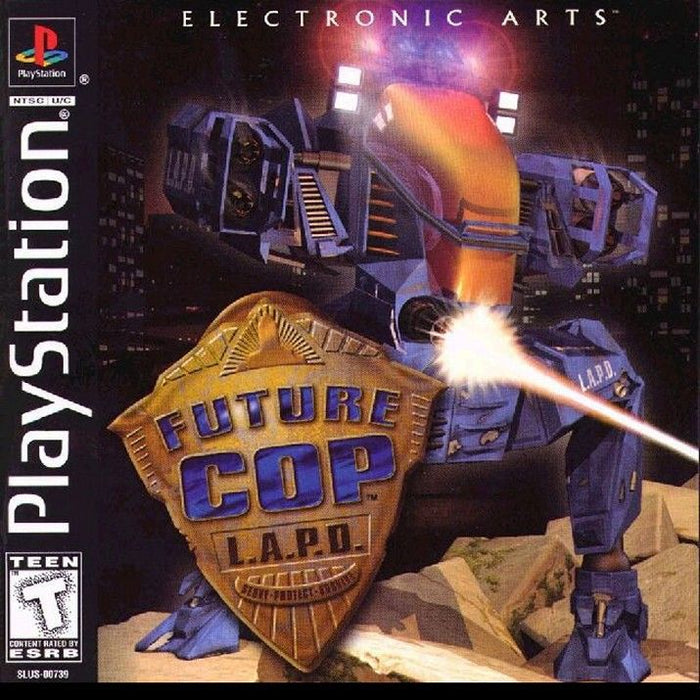 Future Cop LAPD - PlayStation 1