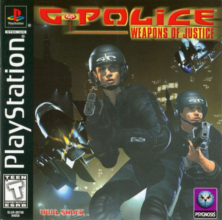 G-Police Weapons of Justice - PlayStation 1