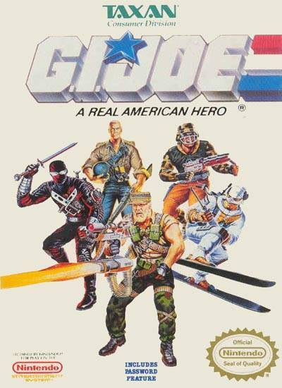 G.I. Joe A Real American Hero - Nintendo Entertainment System