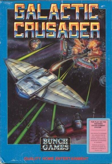 Galactic Crusader - Nintendo Entertainment System