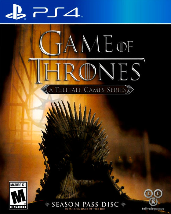 Game of Thrones A Telltale Games Series - PlayStation 4