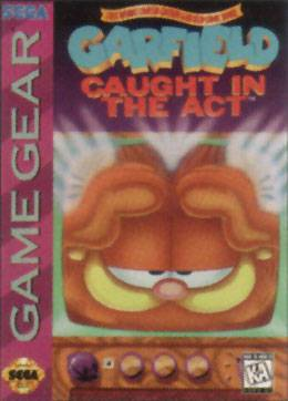 Garfield Caught in the Act - Sega Game Gear