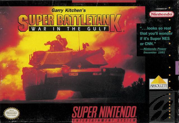 Garry Kitchens Super Battletank War in the Gulf