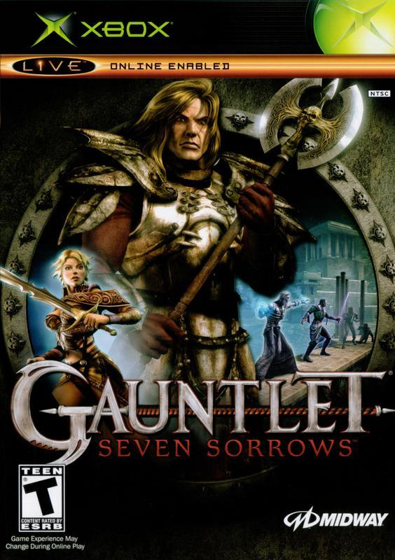 Gauntlet Seven Sorrows - Xbox