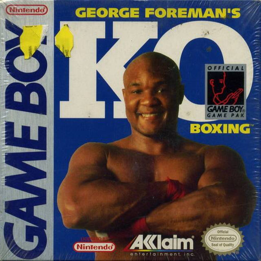 George Foremans KO Boxing - Game Boy