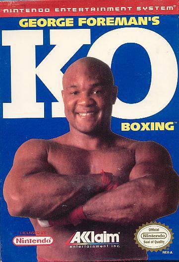 George Foremans KO Boxing - Nintendo Entertainment System