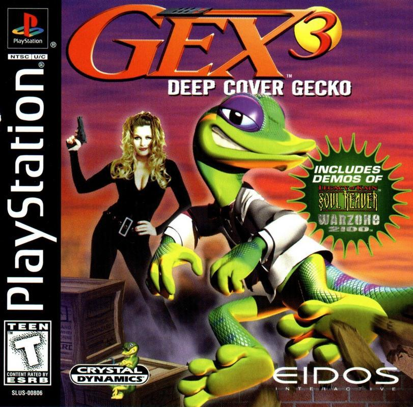 Gex 3 Deep Cover Gecko - PlayStation 1