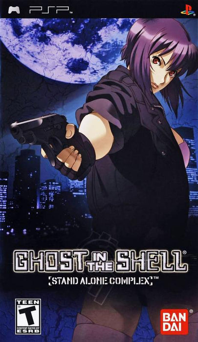Ghost in the Shell Stand Alone Complex - PlayStation Portable
