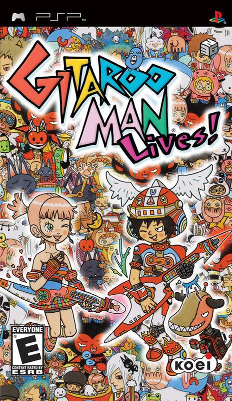 Gitaroo Man Lives! - PlayStation Portable