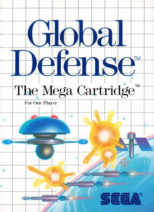 Global Defense - Sega Master System
