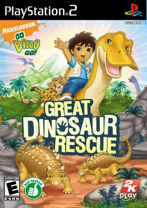 Go Diego Go! Great Dinosaur Rescue - PlayStation 2