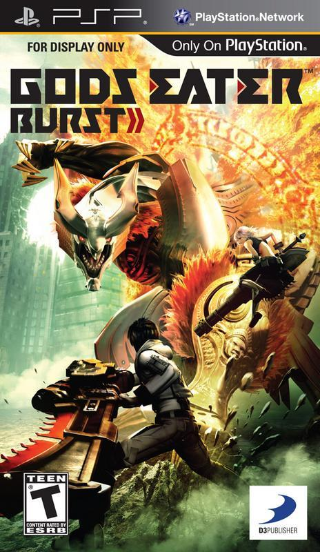 Gods Eater Burst - PlayStation Portable