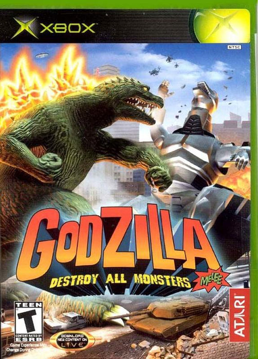Godzilla Destroy All Monsters Melee - Xbox