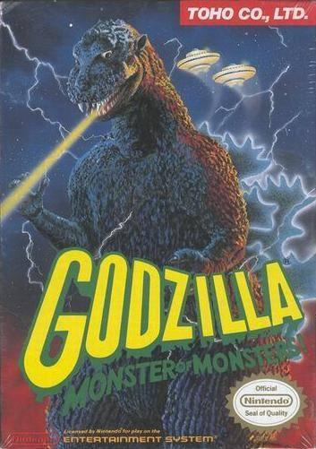 Godzilla Monster of Monsters! - Nintendo Entertainment System