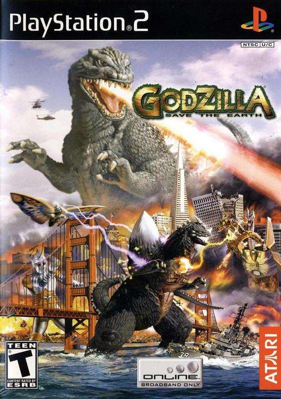 Godzilla Save the Earth - PlayStation 2