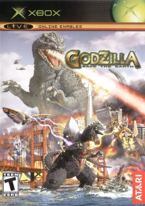 Godzilla Save the Earth - Xbox