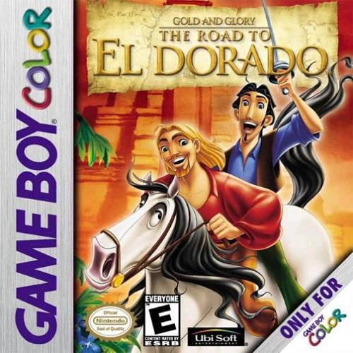 Gold and Glory The Road to El Dorado - Game Boy Color
