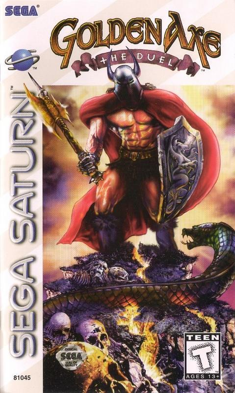 Golden Axe The Duel - Sega Saturn