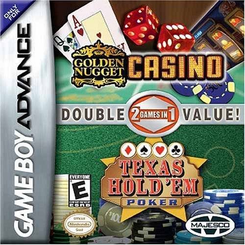 Golden Nugget Casino  Texas Hold Em Double Pack - Game Boy Advance