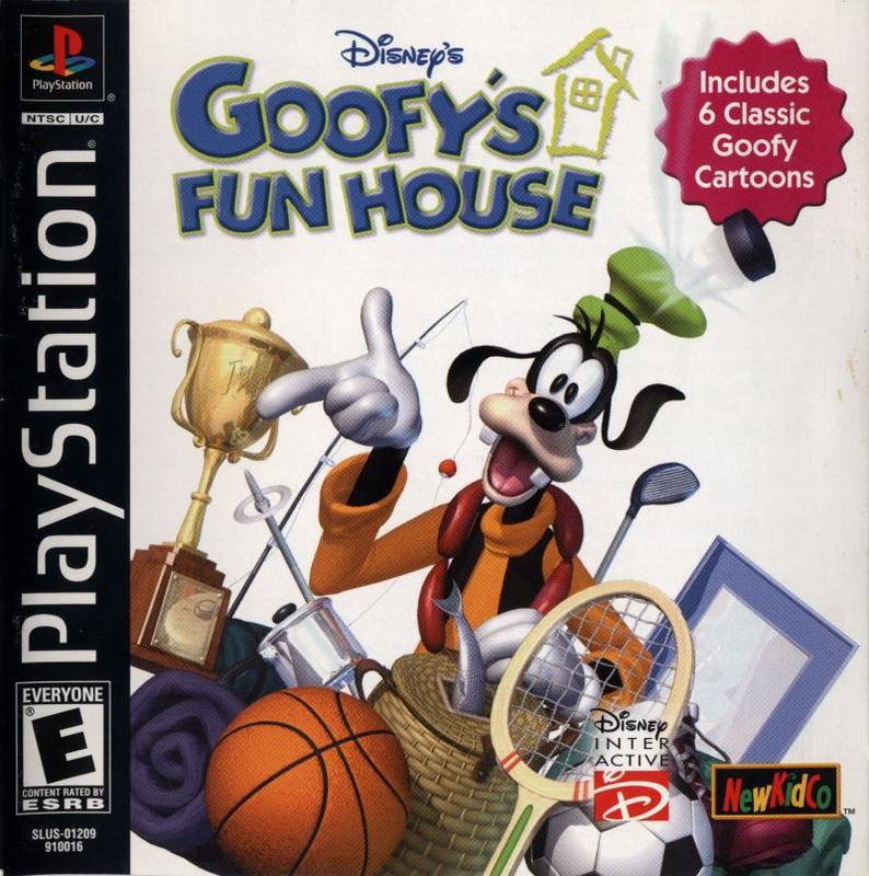 Goofys Fun House - PlayStation 1