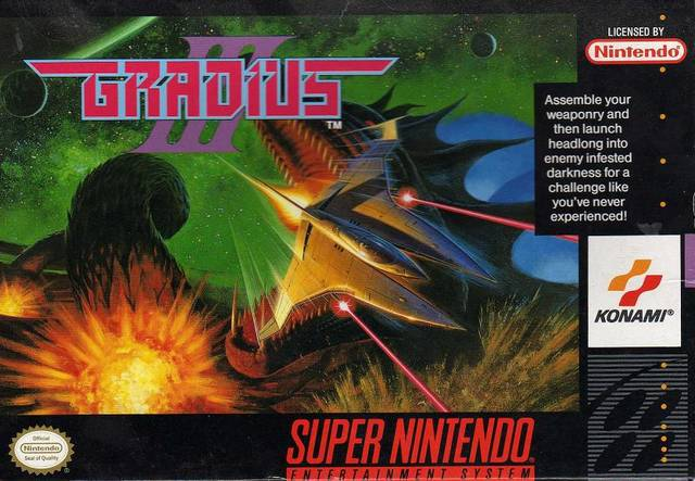 Gradius III - Super Nintendo Entertainment System