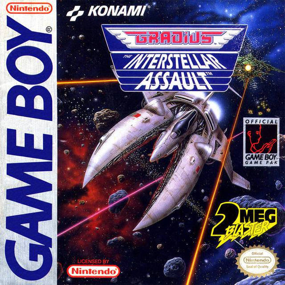 Gradius The Interstellar Assault