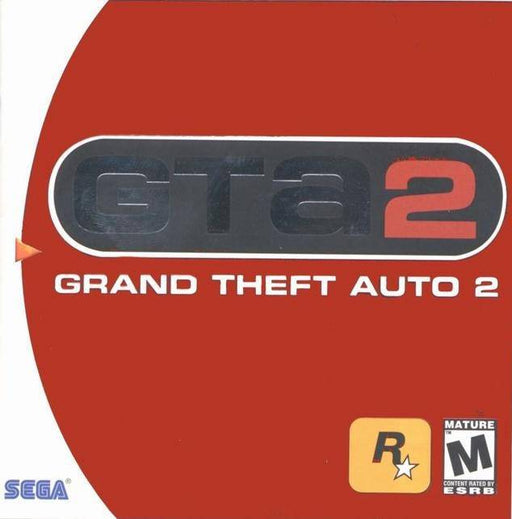 Grand Theft Auto 2 - Sega Dreamcast