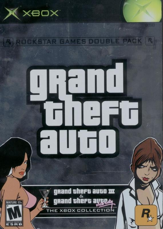 Grand Theft Auto Double Pack - Xbox