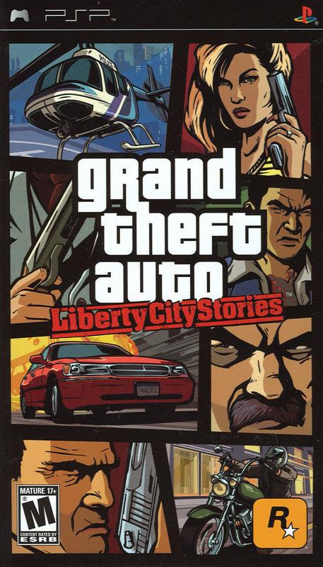 Grand Theft Auto Liberty City Stories - PlayStation Portable