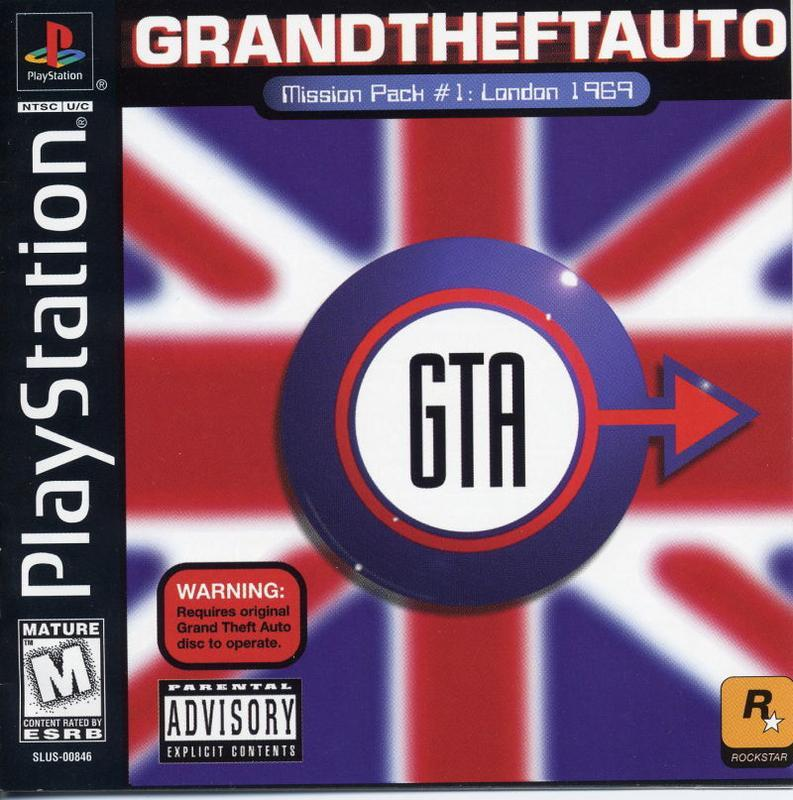 Grand Theft Auto London Mission Pack - PlayStation 1