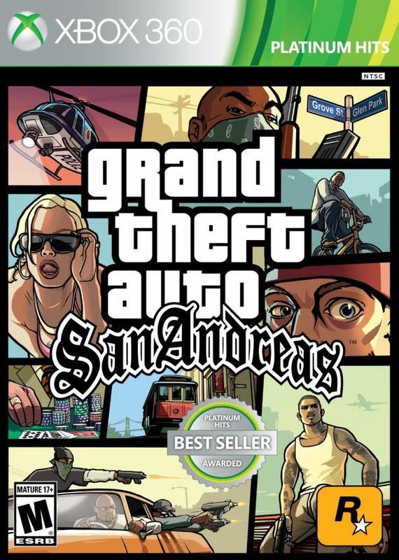 Grand Theft Auto San Andreas - Xbox 360