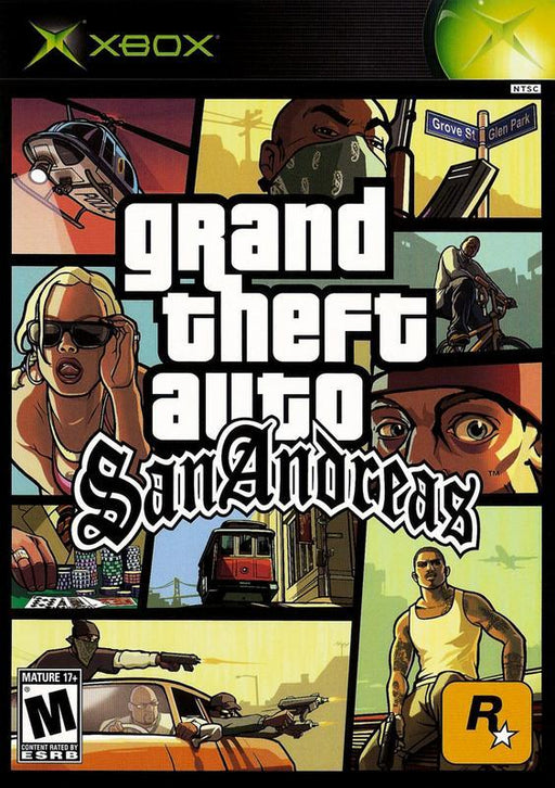 Grand Theft Auto San Andreas - Xbox